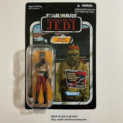 Hasbro Star Wars The Vintage Collection VC56 Kithaba MOC Case Fresh Brown Band
