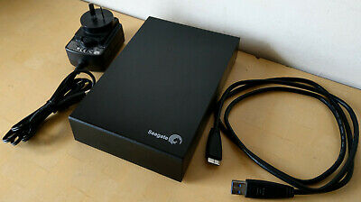 Seagate Expansion Desktop 4TB 5900RPM External Hard Disk Drive with Cables