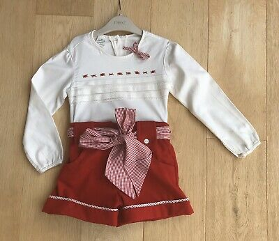 PRETTY ORIGINALS *GIRLS Stunning 'Spanish style' TRADITIONAL OUTFIT AGE 3 YEARS