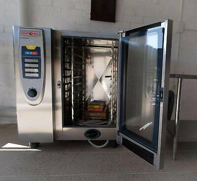 Rational 10 Tray Combi Oven SCC-101G ,LPG , with Stand