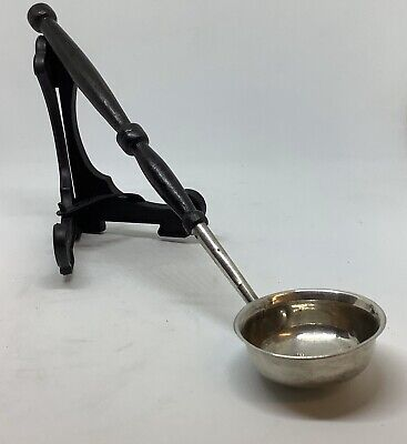 Small Antique Georgian Solid Silver Toddy or Caddy Ladle Birmingham 1802 - 10.8g