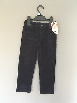 New Corduroy Trousers 4-5 M&S Navy