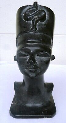 Heavy Stone Sculpture of Bust of Queen Nefertiti