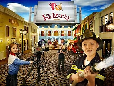 Three Kidzania 3 Hour End Of Day Entry For 1 Child eVouchers