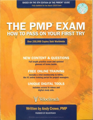 [E-Edition] The PMP Exam: How to Pass on Your First Try 6th Edition Andy Crowe