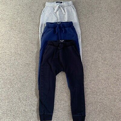 boys joggers next 4-5 years skinny fit blue navy grey