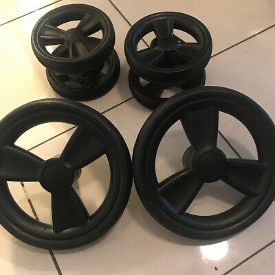 Mothercare Orb Spin Set Of 4 Wheels Full Set Front & Rear Back