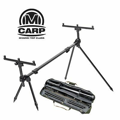 Mivardi Rod Pod Set Hardcore XL High Pod 6 Bein Ersatz Buzzer Bars für 2-4 Ruten