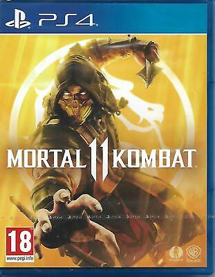 Mortal Kombat 11 PlayStation 4 PS4 Edition - New Sealed