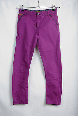 L272/70 Ted Baker Slim Fit Purple Chinos Trousers, age 10, 140 cm
