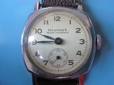 Rare Antique English Movement Gentlemans Watch By Louis Newmark & Co - Working
