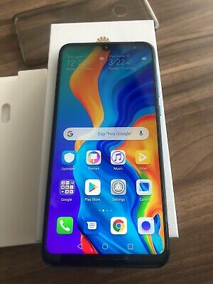 Huawei P30 Lite - 128GB - Peacock Blue (Dual SIM) SIM FREE ANY SIM PTA APPROVED