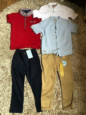 Boys Bundle Of Chinos And Shirts. Next And Others. New And Used. Size 2-3