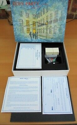 RARE Board Game ZED'S PARTY New/Complete/Boxed 1989 HAVE YOU BEEN INVITED?