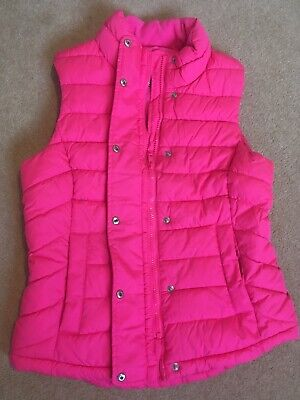 Gap Gillet Pink Gillet Age XS in good condition zip and poppers