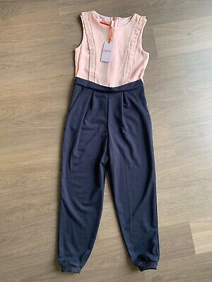 New Ted Baker Girls Frill Jumpsuit Size 10-11 Years