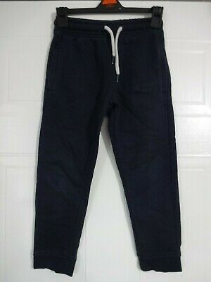 Boys Next navy jogging bottoms age 6 years