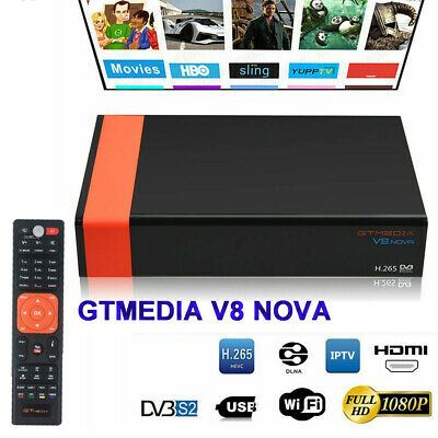 GTMEDIA V8 NOVA Full HD 1080P H.265 Built-in WIFI DVB-S2 Satellite TV Receiver b
