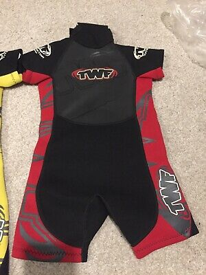 Boys Or Girls Age 3-4 Years TWF Shortie Wetsuit