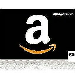 Amazon £5 Egift voucher