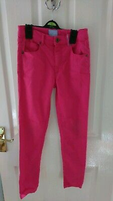 Joules girls pink trousers 9-10 years