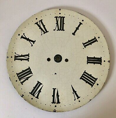 Antique Clock Face Dial 14 Inches Diameter