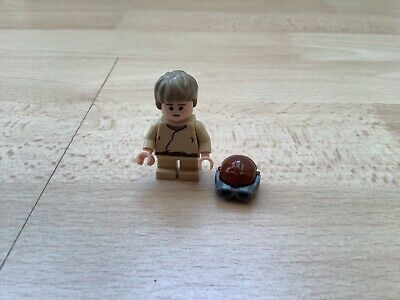 Genuine Lego Star Wars Young Anakin Skywalker mini-figure in excellent condition
