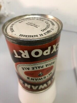 Rare 1960's McEwan's India Pale Ale 9 2/3 British Railway RR Beer Can Unlisted ?