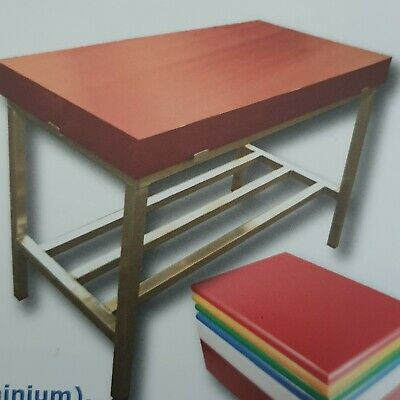 Commercial butchers block with stand