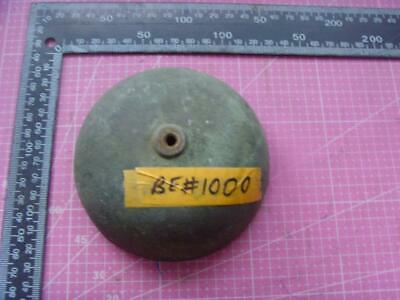 ref:be#1000 Old  medium sized long case  clock parts bell 112mm od clock parts