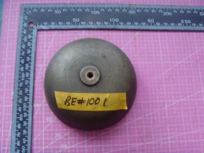 ref:be#1001 Old original  medium size long case  clock bell 114mm od clock parts