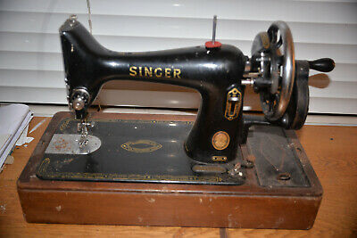 Singer 99K Sewing Machine For Parts, Hand Crank