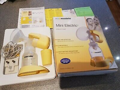 Medela Single Mini Electric or battery use Breastpump