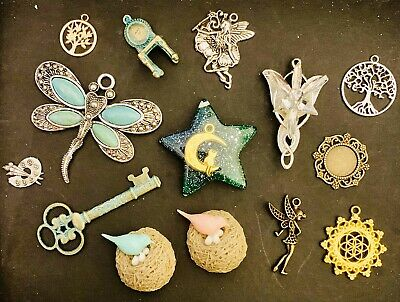 Selection Of Charms And Embellishments