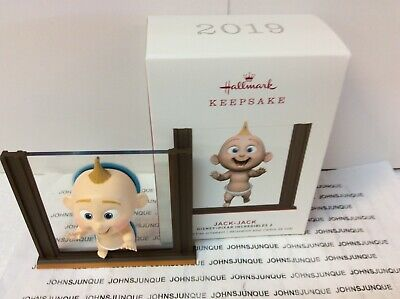 Jack-Jack Hallmark Ornament 2019 New In Box Disney-Pixar Incredibles 2 Baby