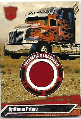 TRANSFORMERS Movie Optimus Prime Red Truck Panel  - Limited To #/8070