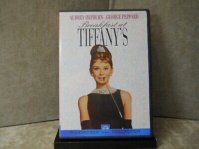 Breakfast at Tiffanys (DVD, 1999, Sensormatic)  Like New  #1785