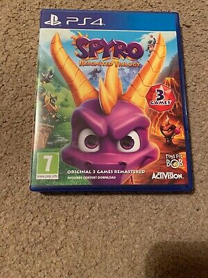 Spyro Reignited Trilogy PS4 Very Good Condition