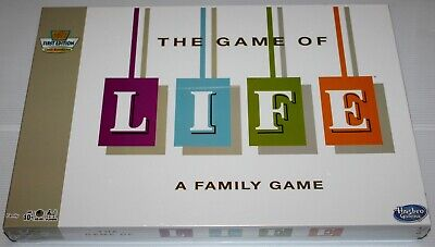 The Game Of Life - 1960 Edition - Classic 50Th Anniversary Re-Release - Sealed!