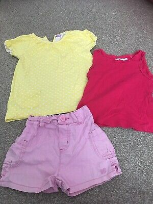 Little Girls Clothes Bundle Age 2-3 Years