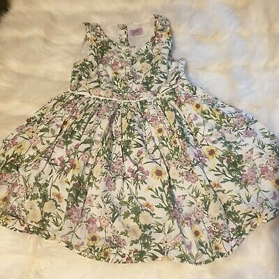 Girls 4-5 years floral cute party prom dress summer clothes next day