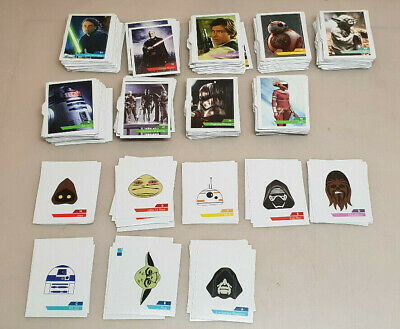 Big Lot 605 Card Leclerc Star Wars Stickers 1 with 88+ Letter H Faire Offer