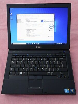 DELL Latitude E6410 i5 2.67 GHz 8GB Ram 250GB SSD HD Webcam Windows 10 Pro DVDRW
