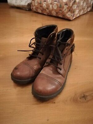 Marks & Spencer (M&S) Kid brown Boots boys size 13S