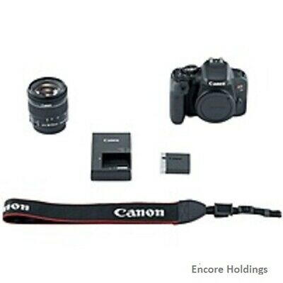 Canon EOS 1894C002 Digital SLR Camera with Lens 18 mm to 55 mm (Lens 1) 1894C002