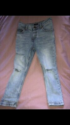 River Island Ripped Skinny Jeans 5 Years