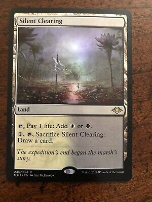 MTG Magic the Gathering MODERN HORIZONS MH1 SILENT CLEARING RARE