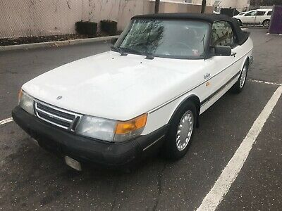 1989 Saab 900 900 turbo 1989 Saab 900 Turbo convertible auto ac leather classic collectible runs drives