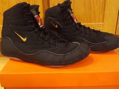 NIKE INFLICT WRESTLING SHOES SZ 10.5 customized to look like OG