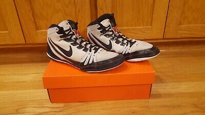 Nike Freek Wrestling Shoes - Used Size 10 White and Black